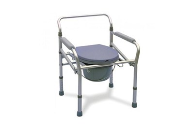 Adjustable Height Commode Chair